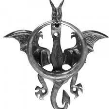 dragon door knocker art of metal