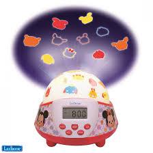 avec radio réveil veilleuse avec projection tsum tsum lexibook