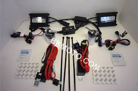 universal motorcycle 55w h7 hid kit
