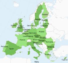 european countries on a map the member states of the european union list of countries in the eu