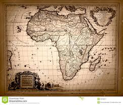 Map Of Ancient Africa by Vintage Map Of Africa Stock Photography Image 32556042