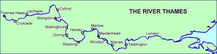 thames river map europe hike from the source of the thames in the cotswolds to central