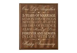 5th wedding anniversary ideas unique 5th wedding anniversary gift ideas cherry