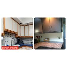painted kitchen cabinets with oak trim pin on clean and clutter free homes