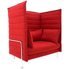 Ronan And Erwan Bouroullec Alcove High Back Loveseat Lounge Chair