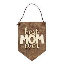 Family Wood Sign Home Decor Best Mom Ever Gifts For Mom Family Gifts Home Decor