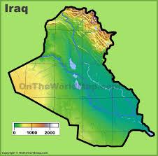 Map Iraq Iraq Maps Maps Of Iraq