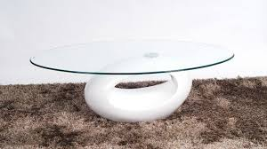 Oval Glass Coffee Table by 2017 Popular Oval White Coffee Tables