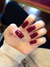 done this color b4 and i love it nails pinterest square