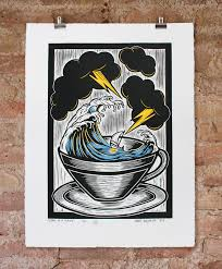 storm in a teacup storm in a teacup hand coloured by bourke nelly duff