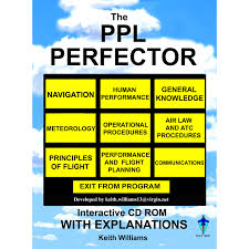 ppl perfector cd new easa flight traning exam preparation cd
