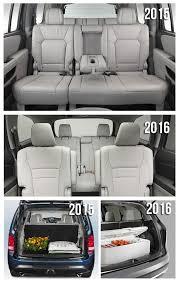 honda pilot 7 passenger 2016 honda pilot features and utility as compared to 2015 pilot