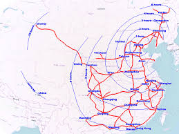 Chengdu China Map by Second Tier Insights China U0027s Railway System Maxxelli Blog