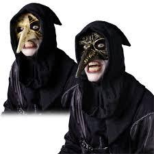 horror masks halloween venetian raven mask halloween