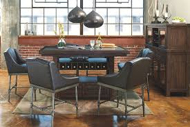 counter dining room sets starmore 5 piece counter dining set ashley furniture homestore