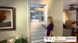 waverly roman shades with cordless top down bottom up operation