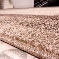 Teppich Schlafzimmer Beige Schwerer Webteppich Beige Brauntöne Bordüre Wohn Und Schlafbereich