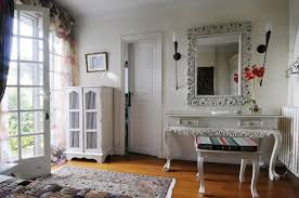 french country farmhouse decor nice wooden four poster bed stacked