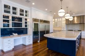 Custom Painted Kitchen Cabinets Custom Painted Transitional Kitchen Cabinets Doopoco Enterprises