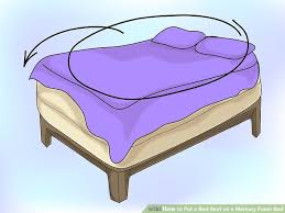 how to put a bed skirt on a memory foam bed 13 steps