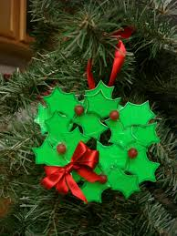 wreath shaped ornament out of duct 9 steps