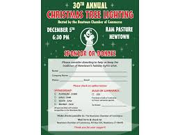 help light up the town at the 30th annual christmas tree lighting