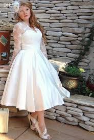 latest style vestido de noiva vintage short wedding dresses long