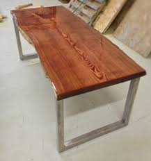 Slab Dining Table by Sale 20 Off Live Edge Catalpa Wood Slab Dining Table