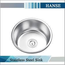 Ke Stainless Steel Round Sink Small Size Sink Round Corner - Kitchen sink small size