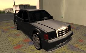 mercedes benz 190e evolution ii 2 5 1990 for gta san andreas