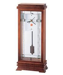 frank lloyd wright collection willits mantel clock by bulova