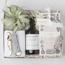 House Warming Wedding Gift Idea Custom Housewarming Gift Box Foxblossom Co