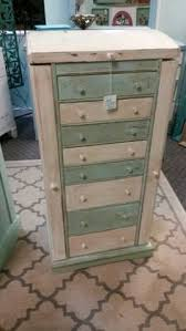 Shabby Chic Jewelry Armoire by Heavy Distressed Nautical Chest Of Drawers House To Home Shabby