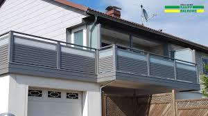 balkone alu balkongeländer alu ab 155 kaupp balkone
