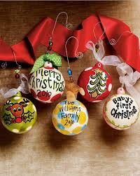 custom personalized ornaments decore