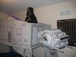 Weekend Project Star Wars ATAT Imperial Walker Loft Bed TechCrunch - Star wars bunk bed