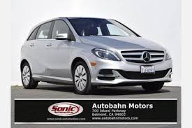 used mercedes b class used mercedes b class electric drive for sale special
