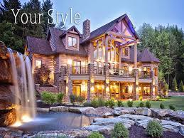 biggest luxury log home luxury log cabin home floor plans lrg ifmore