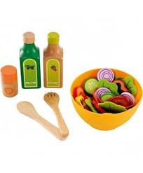 set cuisine enfant hape cuisine set de salade jouet en bois enfant 3 ans dinette un
