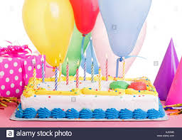 birthday cake colorful candles stock photos u0026 birthday cake