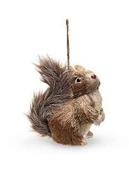 squirrel ornament decorating