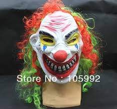 2013 new horror clown mask halloween mask scary mask funny latex