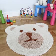 Kids Play Rugs With Roads by Amazon Com Kid U0027s Teddy Bear Cream And Beige Thick Super Soft