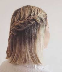 step by step braid short hair lovable short braided hairstyles for ladies short hairstyles