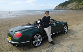 great drives bentley continental convertible on the mystical