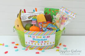 summer gift basket popsicle kit tgif this is