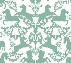 rocking horse pattern seamless tiles
