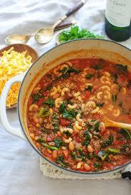 smokey chili mac soup bev cooks