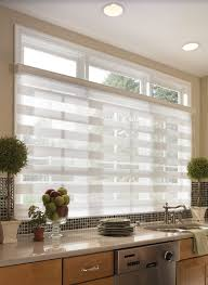 kitchen lovely window covering ideas panel blinds kitchen roman