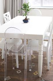 Clear Dining Chairs Ghost Dining Chairs Bedroom And Living Room Image Collections